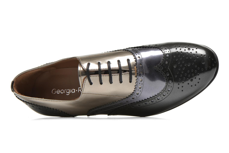 Chaussures à lacets Georgia Rose Paragom Gris vue gauche