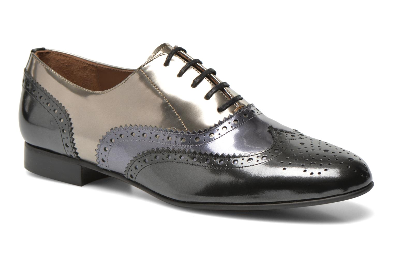 Chaussures à lacets Georgia Rose Paragom Gris vue détail/paire