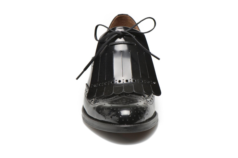 Chaussures à lacets Georgia Rose Parafrange Noir vue portées chaussures