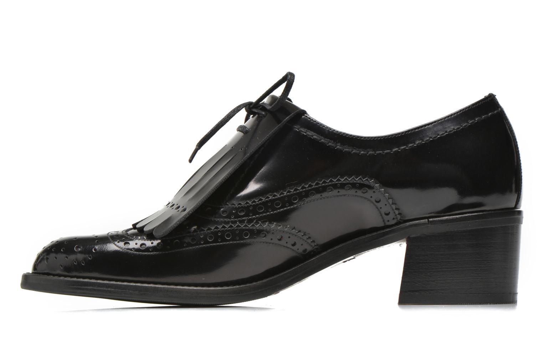 Chaussures à lacets Georgia Rose Parafrange Noir vue face