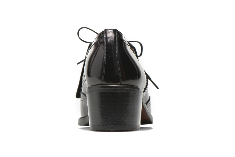 Chaussures à lacets Georgia Rose Parafrange Noir vue droite