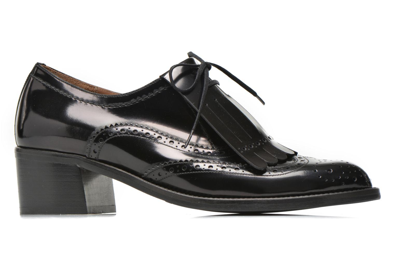 Chaussures à lacets Georgia Rose Parafrange Noir vue derrière