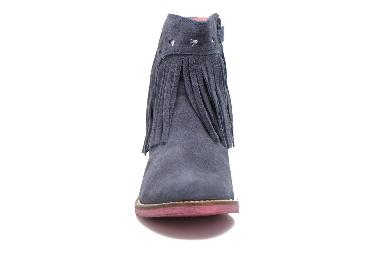 Bottines et boots Agatha Ruiz de la Prada State Bleu vue portées chaussures