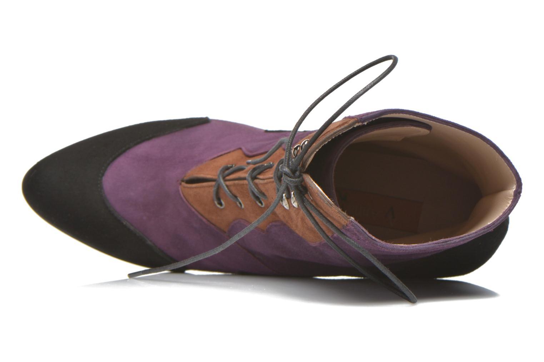 Bottines et boots Anna Volodia Aurora Multicolore vue gauche