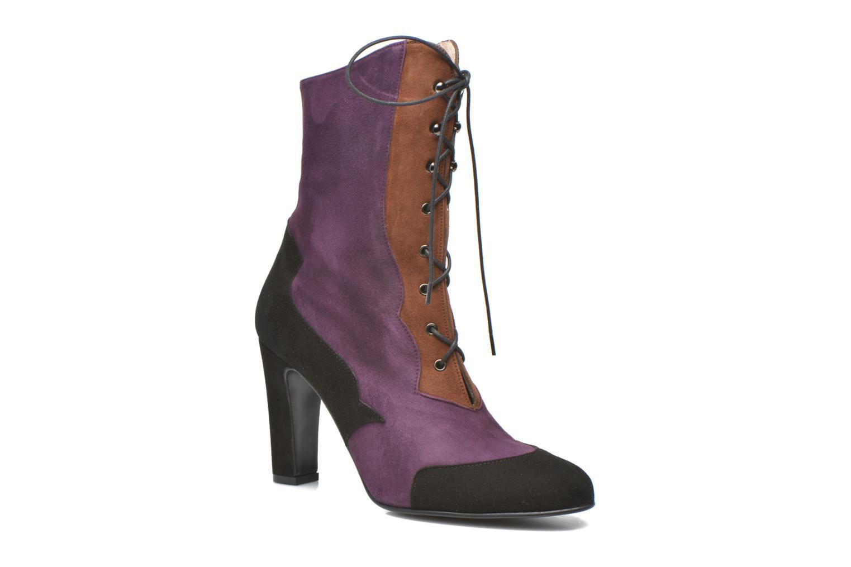 Bottines et boots Anna Volodia Aurora Multicolore vue détail/paire