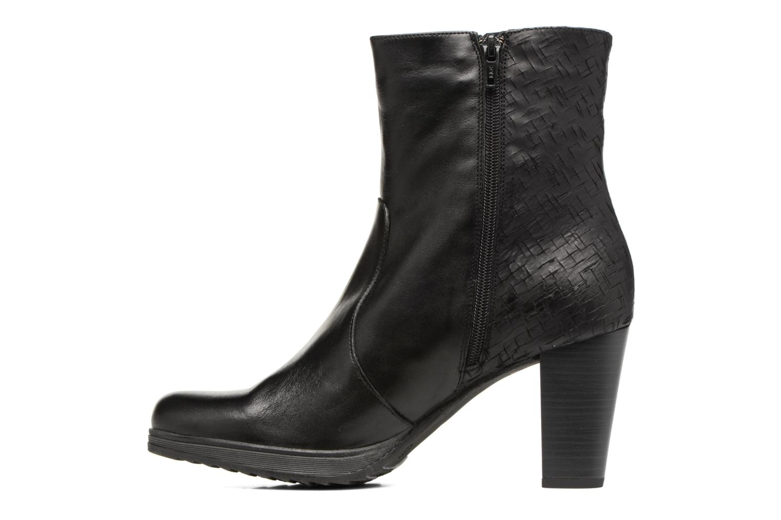 Bottines et boots Dorking Delia 6791 Noir vue face