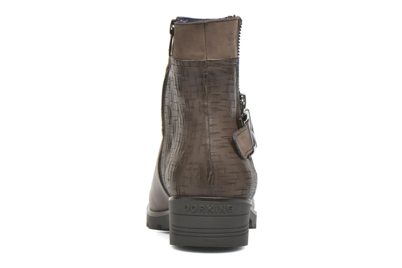 Bottines et boots Dorking Nala 6961 Marron vue droite