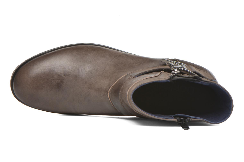Bottines et boots Dorking Nala 6961 Marron vue gauche
