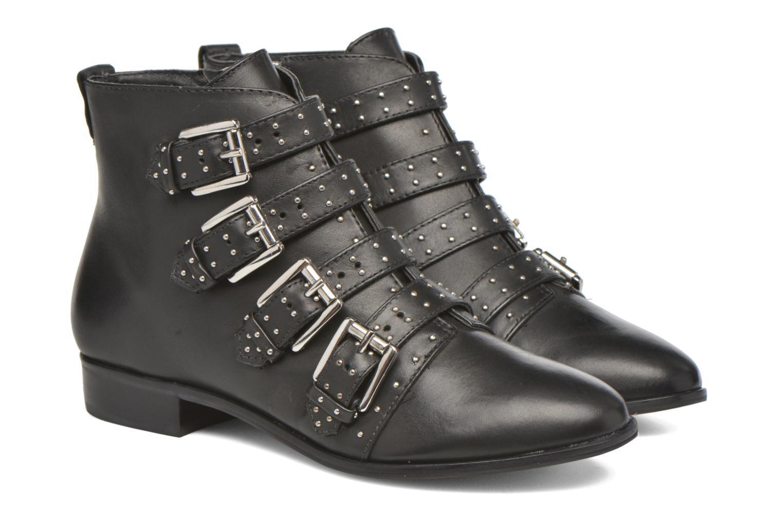 Bottines et boots Rebecca Minkoff MADDOX Noir vue 3/4