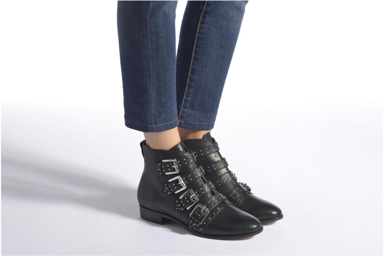 Bottines et boots Rebecca Minkoff MADDOX Noir vue bas / vue portée sac