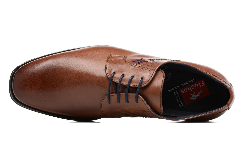 Chaussures à lacets Fluchos Nugget 9488 Marron vue gauche