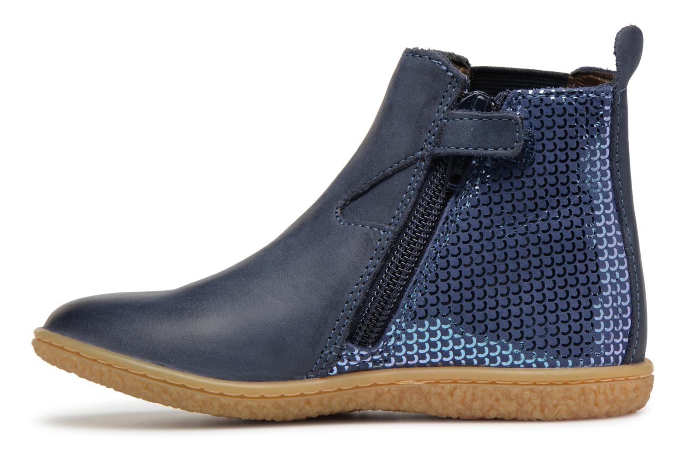 Bottines et boots Kickers Vermillon Bleu vue face