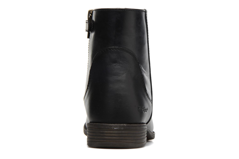 Bottines et boots Kickers Rusty Noir vue droite