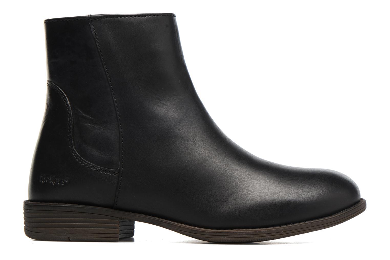 Bottines et boots Kickers Rusty Noir vue derrière