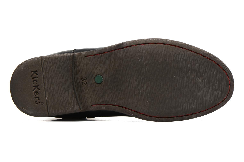 Bottines et boots Kickers Rusty Noir vue haut