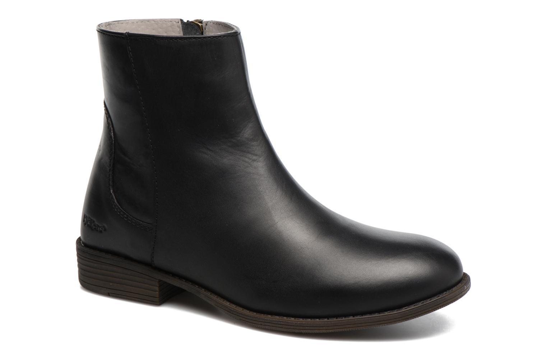 Bottines et boots Kickers Rusty Noir vue détail/paire