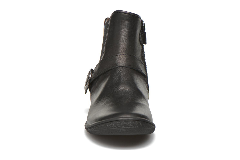 Bottines et boots Kickers Cadmium Noir vue portées chaussures