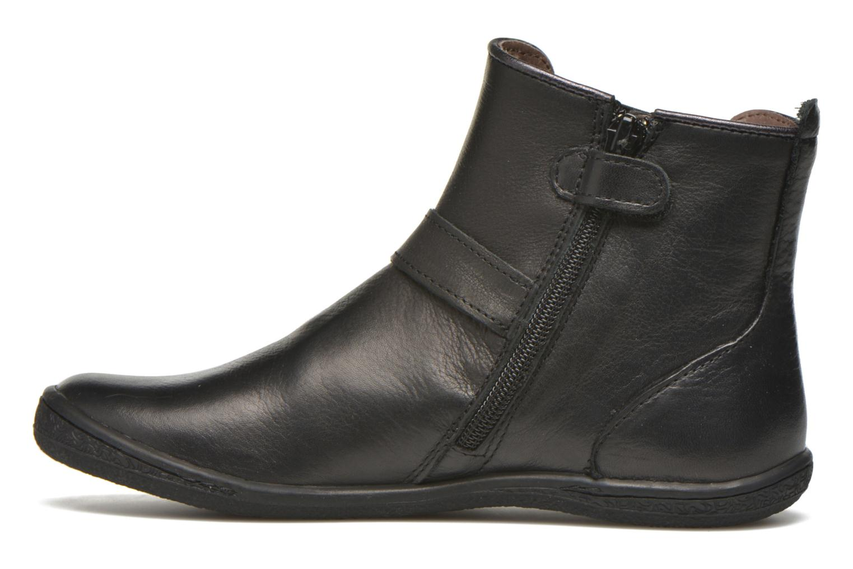 Bottines et boots Kickers Cadmium Noir vue face