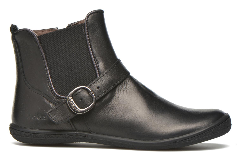 Bottines et boots Kickers Cadmium Noir vue derrière