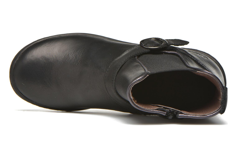 Bottines et boots Kickers Cadmium Noir vue gauche