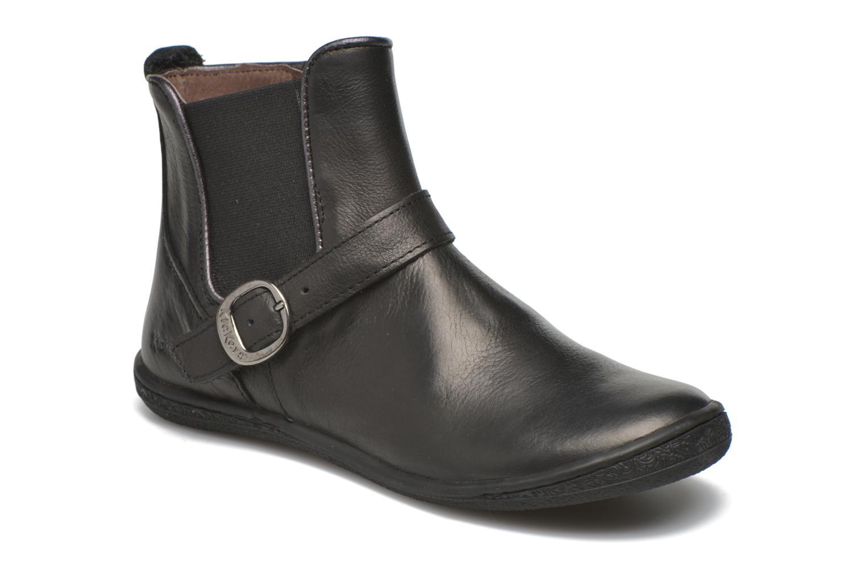 Bottines et boots Kickers Cadmium Noir vue détail/paire