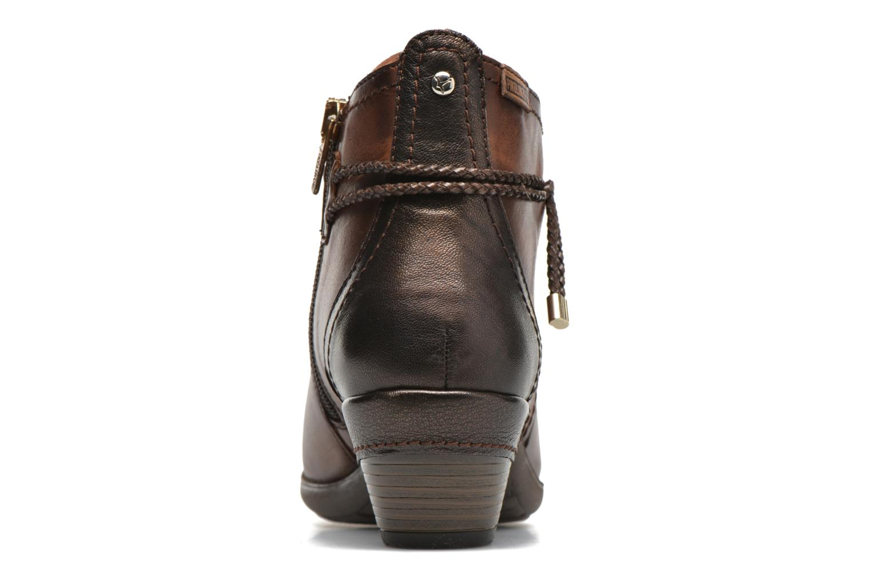Bottines et boots Pikolinos Rotterdam 902-8775 Marron vue droite