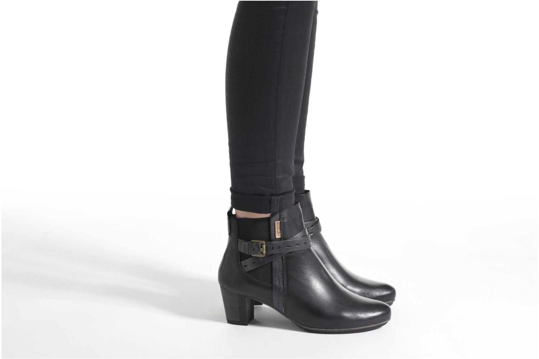 Bottines et boots Pikolinos SEGOVIA W1J-8795 Marron vue bas / vue portée sac