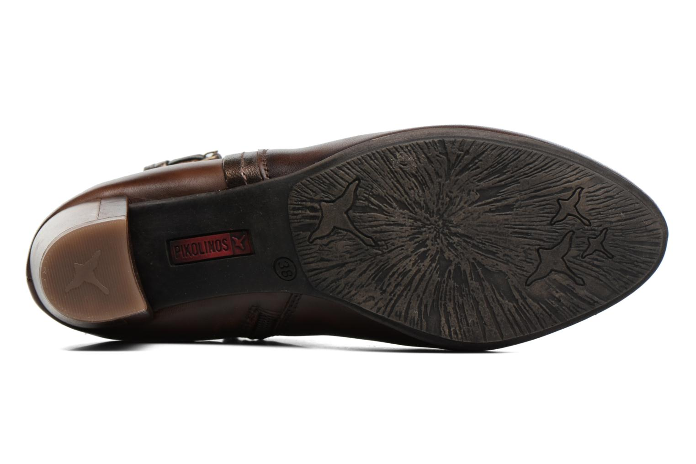 Bottines et boots Pikolinos SEGOVIA W1J-8795 Marron vue haut