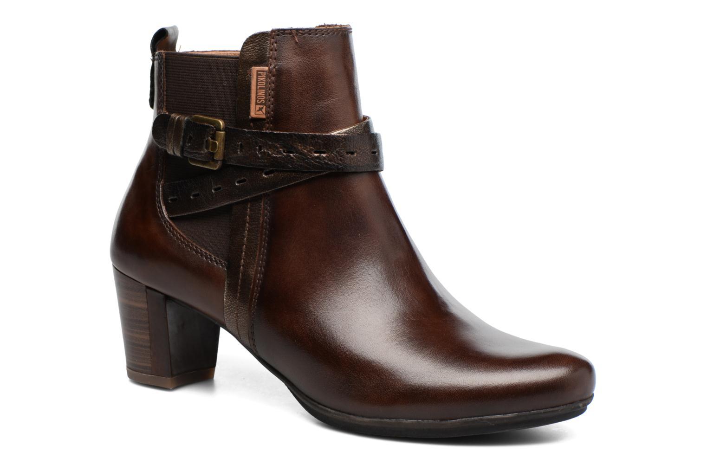 Bottines et boots Pikolinos SEGOVIA W1J-8795 Marron vue détail/paire