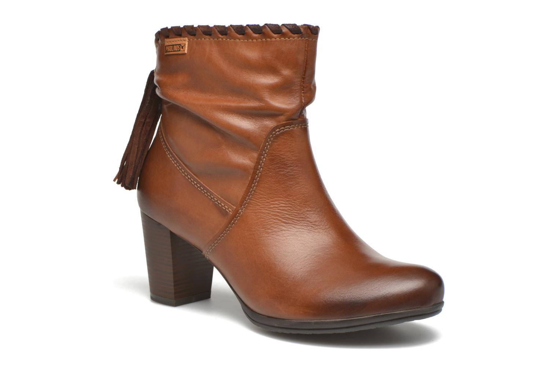 Bottines et boots Pikolinos VERONA W5C-8813 Marron vue détail/paire