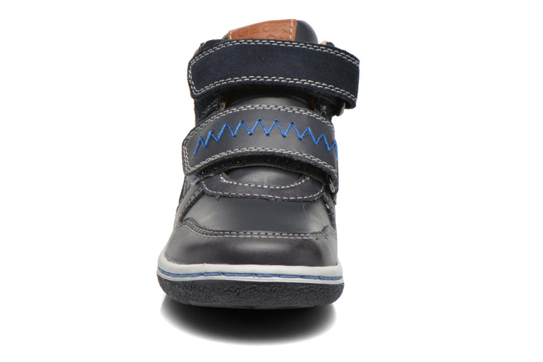 Baskets Geox B Flick B. C B6437C Bleu vue portées chaussures