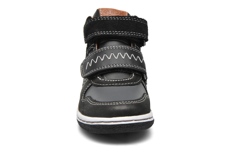 Baskets Geox B Flick B. C B6437C Noir vue portées chaussures