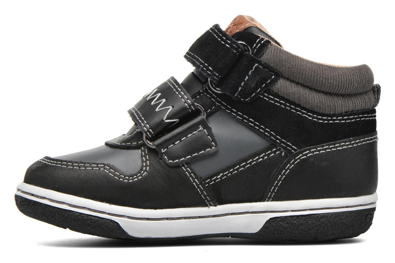 Sneakers Geox B Flick B. C B6437C Zwart voorkant