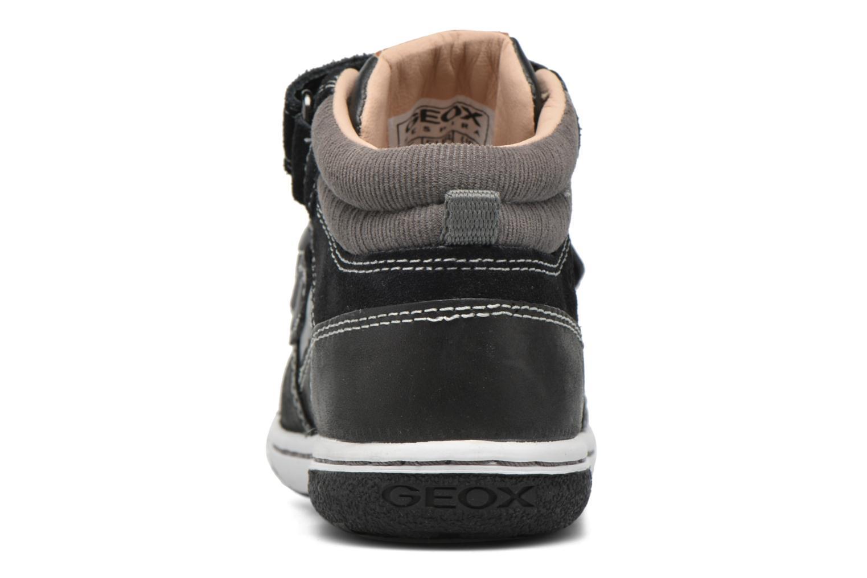 Sneakers Geox B Flick B. C B6437C Zwart rechts