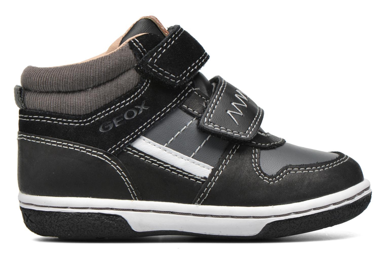 Sneakers Geox B Flick B. C B6437C Zwart achterkant