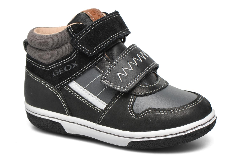 Sneakers Geox B Flick B. C B6437C Zwart detail