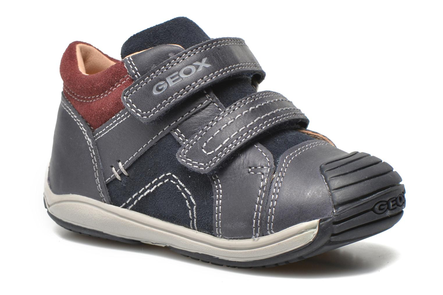 Trainers Geox B Toledo B. A B6446A Blue detailed view/ Pair view