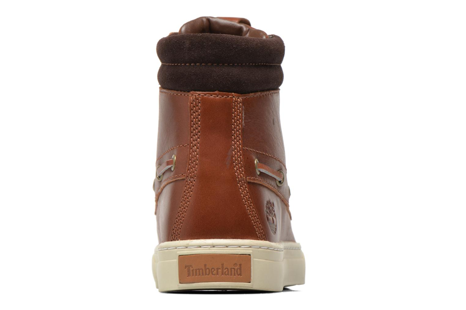 Bottines et boots Timberland Adventure 2.0 Cupsole Leather 7-Eye Chukka Marron vue droite