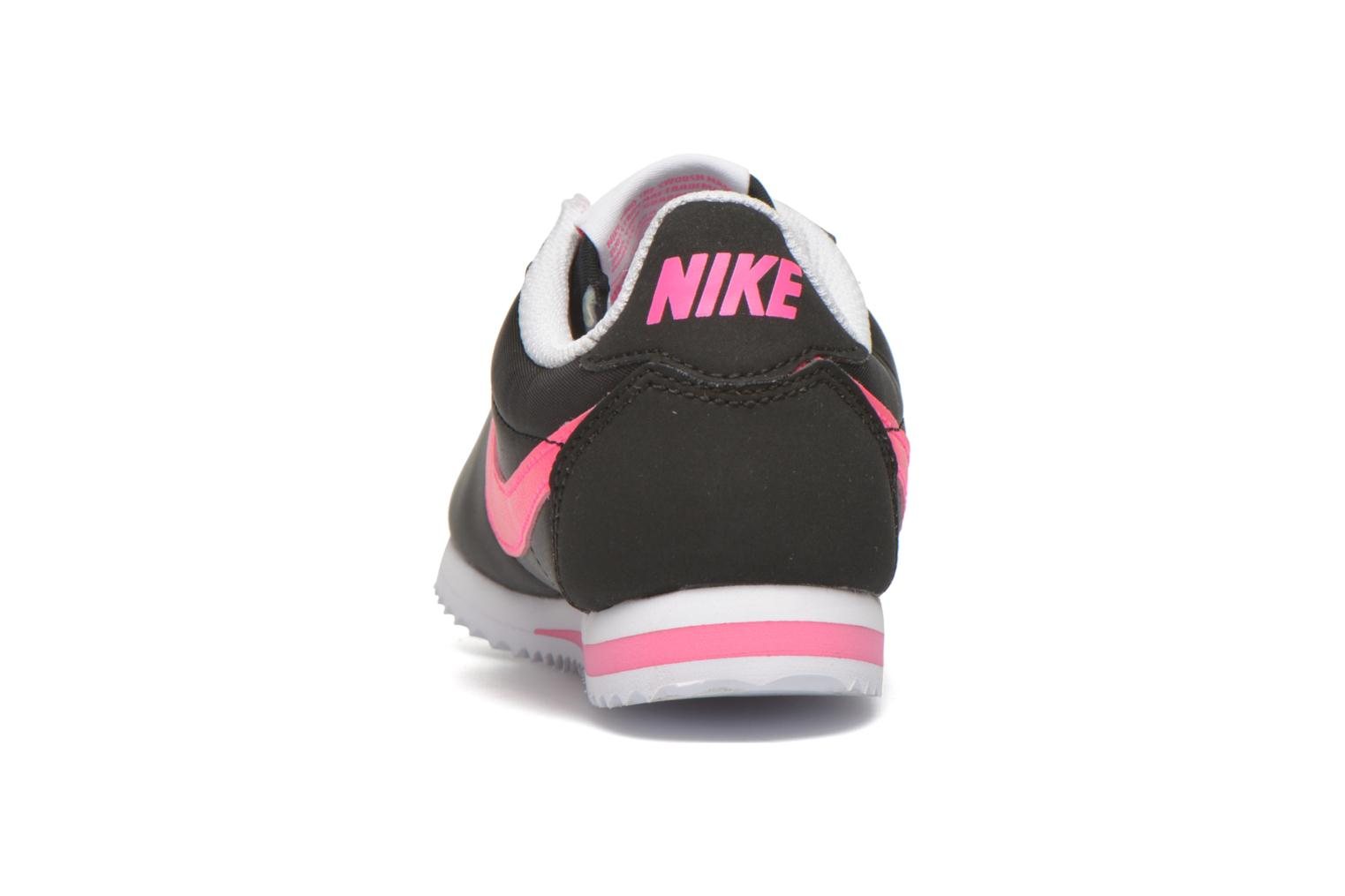 Trainers Nike Nike Cortez Nylon (Ps) Black view from the right