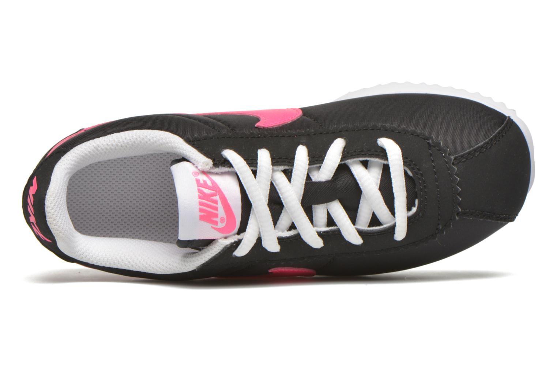 Baskets Nike Nike Cortez Nylon (Ps) Noir vue gauche
