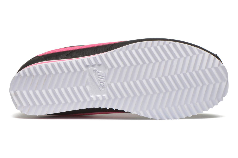 Baskets Nike Nike Cortez Nylon (Ps) Noir vue haut