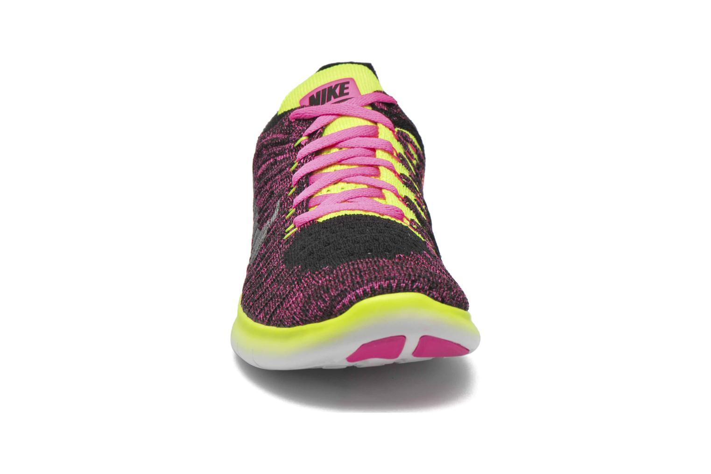 Sneakers Nike Nike Free Rn Flyknit (Gs) Roze model