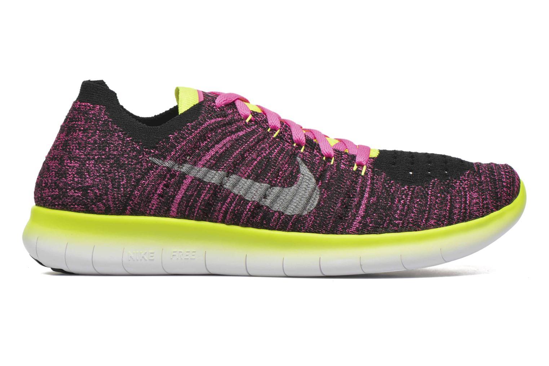 Baskets Nike Nike Free Rn Flyknit (Gs) Rose vue derrière