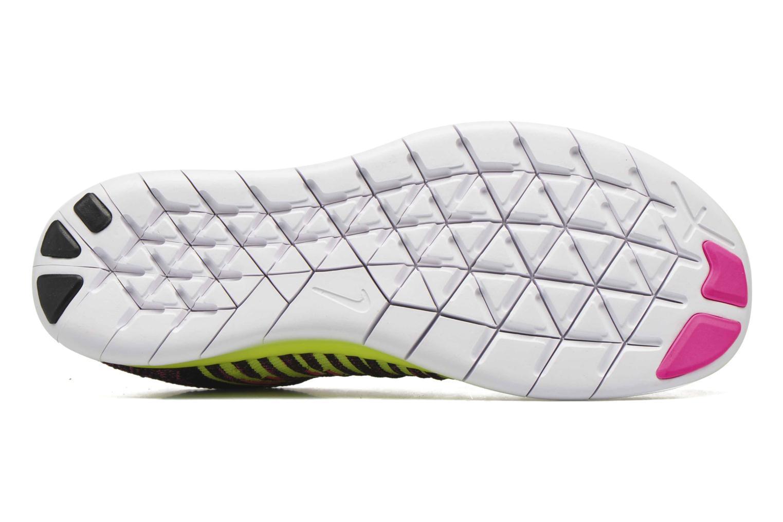 Sneakers Nike Nike Free Rn Flyknit (Gs) Roze boven