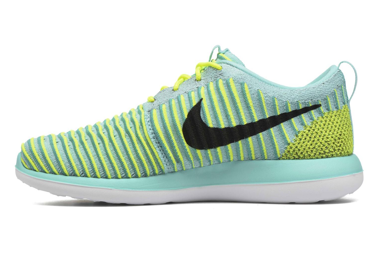Baskets Nike Nike Roshe Two Flyknit (Gs) Bleu vue face