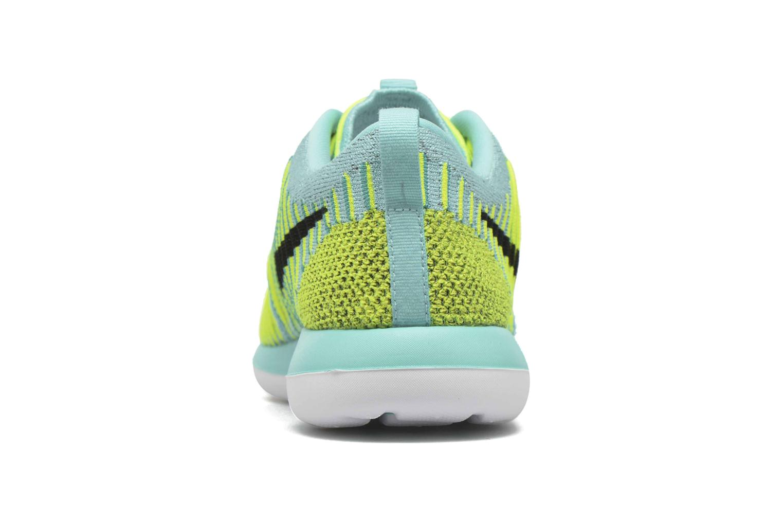 Baskets Nike Nike Roshe Two Flyknit (Gs) Bleu vue droite