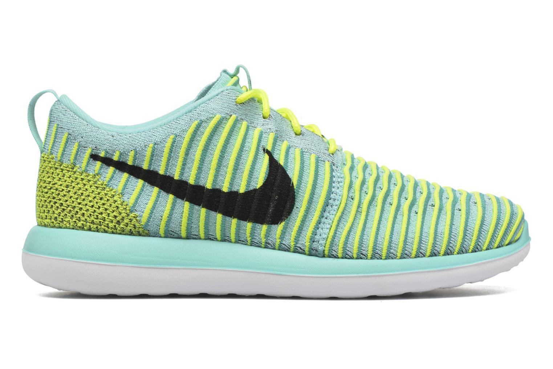 Baskets Nike Nike Roshe Two Flyknit (Gs) Bleu vue derrière