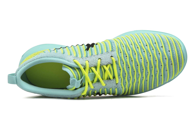 Baskets Nike Nike Roshe Two Flyknit (Gs) Bleu vue gauche