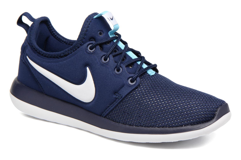Nike Roshe Two (Gs) Binary Blue/White-Vivid Sky-Binary Blue