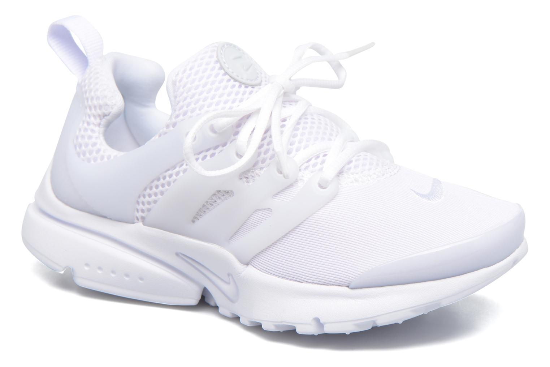 Baskets Nike Nike Presto (Ps) Blanc vue détail/paire